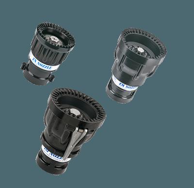 image of three Z series nozzles