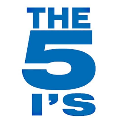 The 5 I's graphic