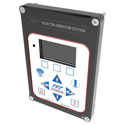 PANEL MOUNT MON OP STATION W/DISPLAY